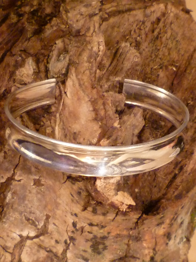 Silver Torque Bracelet