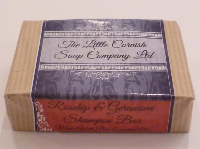 Rosehip & Geranium Shampoo Soap