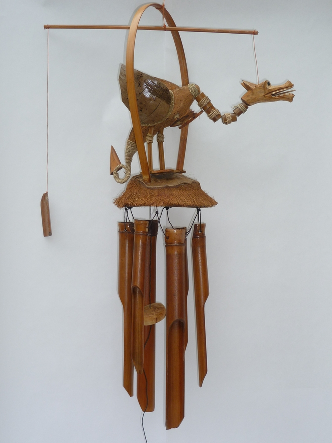 Dragon Bamboo Wind Chime