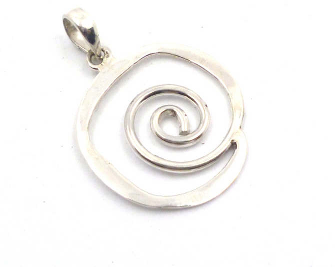 Sterling Silver Eternity Pendant
