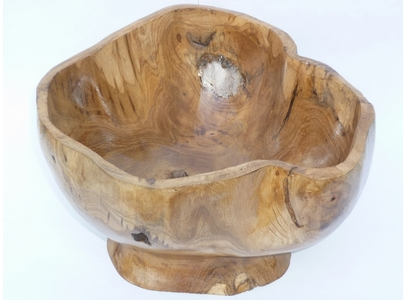 Wooden Teak Root Bowl