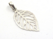 Silver Leaf Pendant