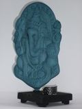 Ganesha Verdigre Vision Quest Holographic Sculpture