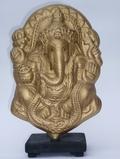 Ganesha Gold Vision Quest Holographic Sculpture